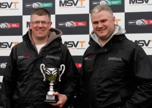 Aaron Harding and David Slater MSVR Team Trophy