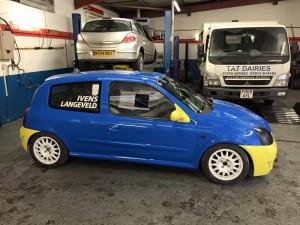 Clio Cup Race car