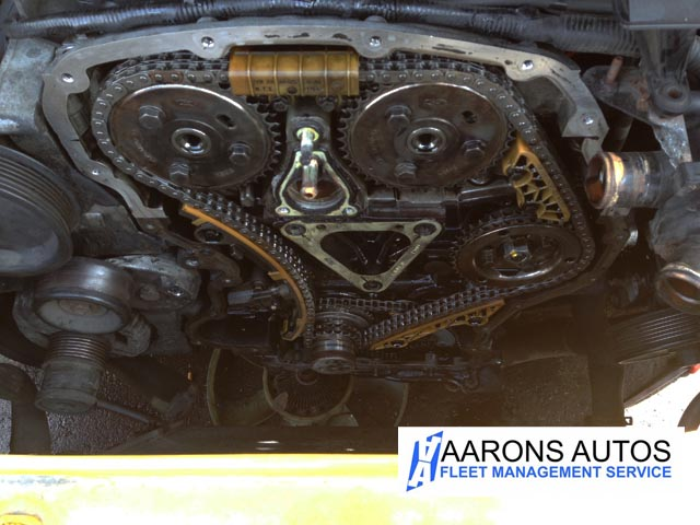 Ford Transit S Oil Leaks Solved Left Garage With A