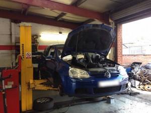 VW-Golf-Garage-Derby