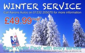 Winter Service 2014 Aarons Autos