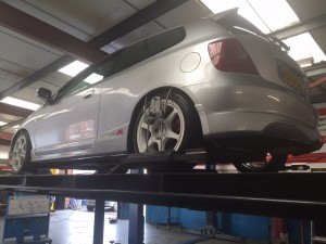 honda civic 4 wheel alignment