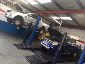 Ford Ranger Servicing in Derby