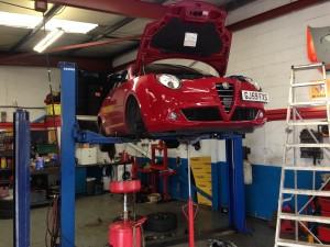 Aarons Autos Alfa Romeo Specialists