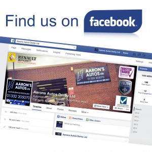 find Aarons Autos on facebook