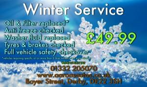 aarons autos derby winter service deals