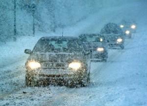 Aarons Autos snow driving