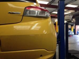 Renault Megane RS250 hub swivel joint