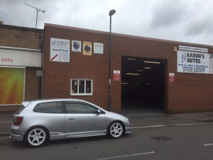 aarons autos 4 wheel alignment